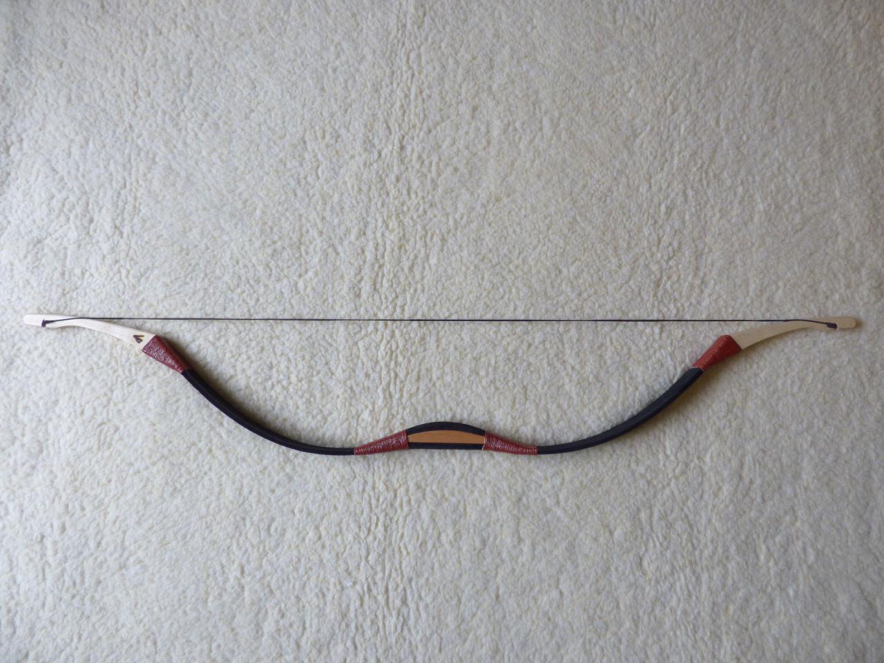 íjkészítés Nagyhalász, magyar II. típusú íjak